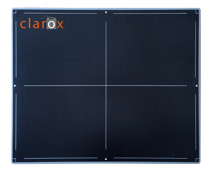 Direct digital radiography ClaroX DR 1417 system. Flat panel. 14 x 17 inch.
